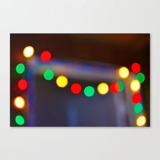 Deck the Hall Canvas Print