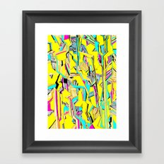 Streak Framed Art Print