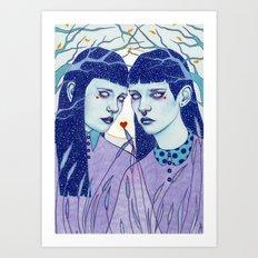 Ghoulmates Art Print