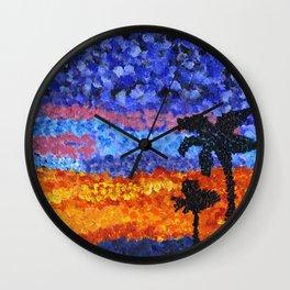 Gorgeous Sunset Wall Clock