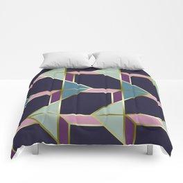 Ultra Deco 3 #society6 #ultraviolet #artdeco Comforters