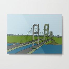 Narrows Bridge Metal Print