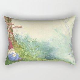 The Sleeping Gnome Rectangular Pillow