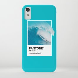 Pantone Series – Hawaiian Surf iPhone Case