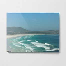 Cape of Good hope to south Africa Metal Print