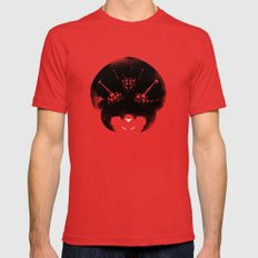 Super Metroid Mens Fitted Tee MEDIUM Red