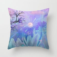 Got The Blues, Forget it..These Blues Will Cheer You Throw Pillow