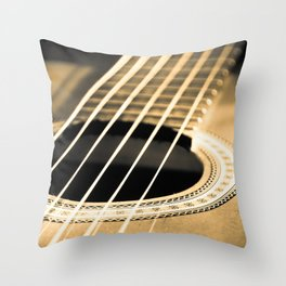 On A String Throw Pillow