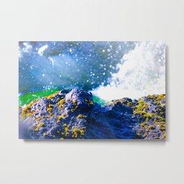 Mermaid Earth in Iceland Metal Print