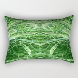 The Grass Queen Rectangular Pillow