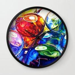 Glass Gems Wall Clock