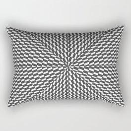 arte óptico Rectangular Pillow
