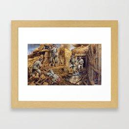 La Guerre Framed Art Print