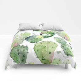 Cactus commotion Comforters