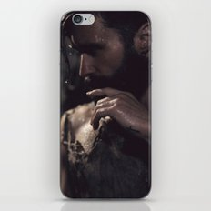 in darkness, there is light iPhone & iPod Skin