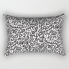 Simply Doodle Rectangular Pillow