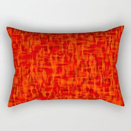 popped fire Rectangular Pillow