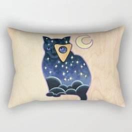 Ouija Cat Rectangular Pillow