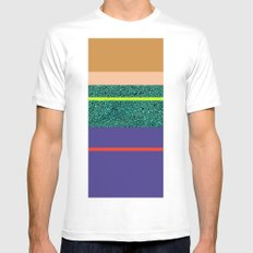 80 States  MEDIUM Mens Fitted Tee White