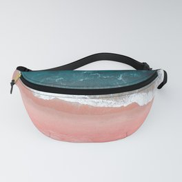 Turquoise Sea Pastel Beach III Fanny Pack