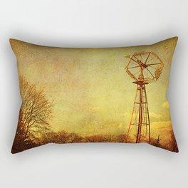 Natural Energy Rectangular Pillow