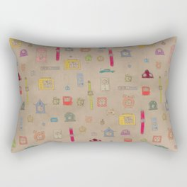 Tic Tac Rectangular Pillow