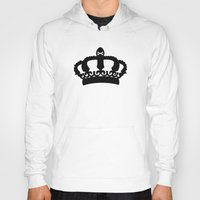 crown Hoodies featuring Crown by Concept Phi