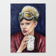 Holtzmann Ghostbusters Portrait Canvas Print