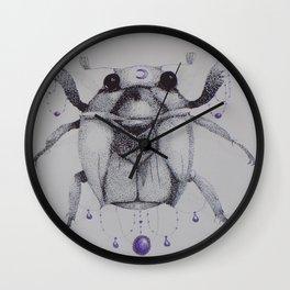 Scarabaeidae Wall Clock