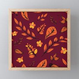 Flower Design Series 22 Framed Mini Art Print