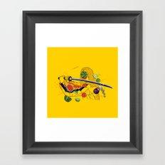 Kill Fruit Framed Art Print