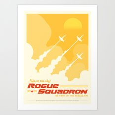 StarWars Rogue Squadron Art Print