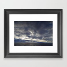 cloudscape Framed Art Print