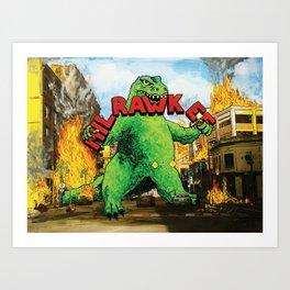 MilRAWKee Art Print