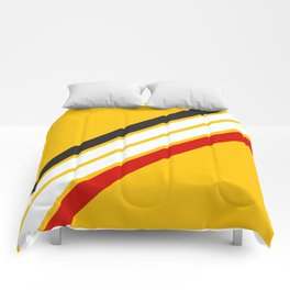 Oldschool Retro Stripes Comforters