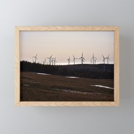 Windmill Ridge Framed Mini Art Print