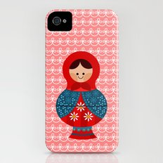 Matrioskas (Russian dolls) Slim Case iPhone (4, 4s)