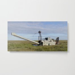 Another Old Gold-Digger Metal Print
