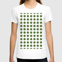 Simply Polka Dots in Jungle Green T-shirt