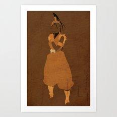 Ibuki Art Print