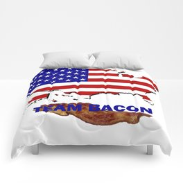 TEAM BACON Comforters