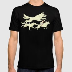 Princess Mononoke MEDIUM Mens Fitted Tee Black