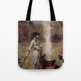 The Magic Circle, John William Waterhouse Tote Bag