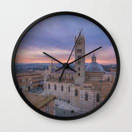 Siena, Italy Wall Clock