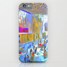 Kings Cross Station London Art Slim Case iPhone 6s