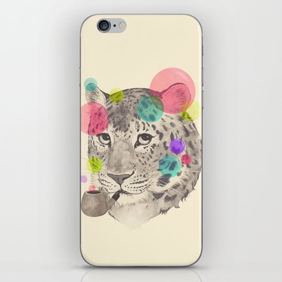 leopard changes his spots iPhone & iPod Skin