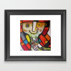 Miss Instagram  Framed Art Print