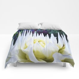 380 - Abstract Flower Design Comforters