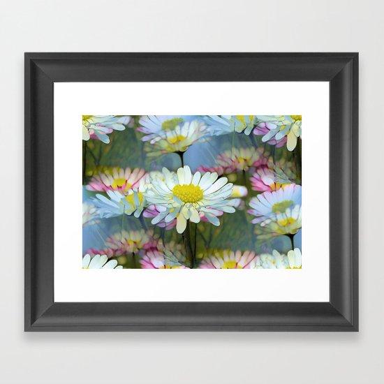 Dreaming Daisies Framed Art Print