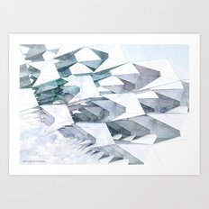The Flying Playschool Art Print